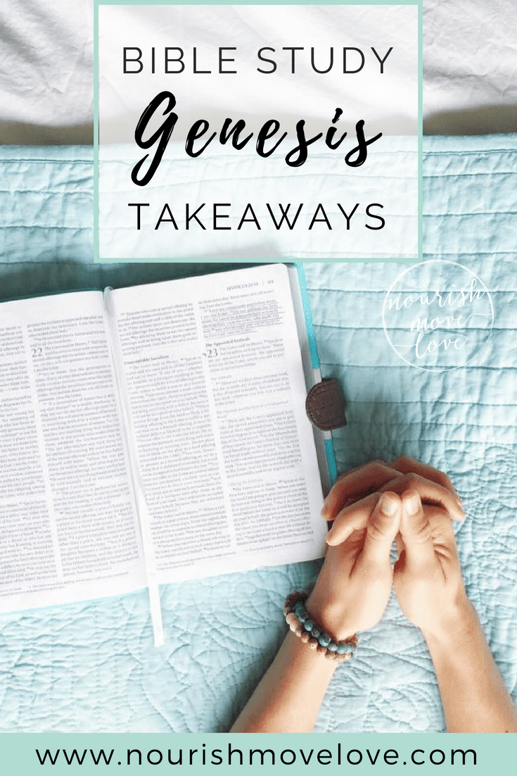 Bible Study - Genesis takeaways and meaning. The greatest self-help book of all, with over 7,000 promises on how to make your life totally awesome, the bible | www.nourishmovelove.com