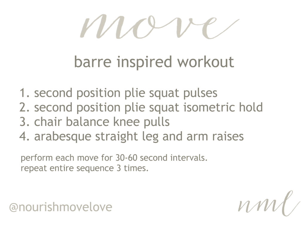 Barre Basics: 4 Barre Exercises You Can Do At Home