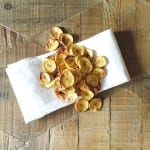 baked plantain chips {plantains, coconut oil, sea salt…it's that simple}