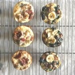 back to school breakfast muffins – batch 1 {banana chia oat muffins}