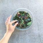 my lunchbox love {blueberry, kale, quinoa salad}