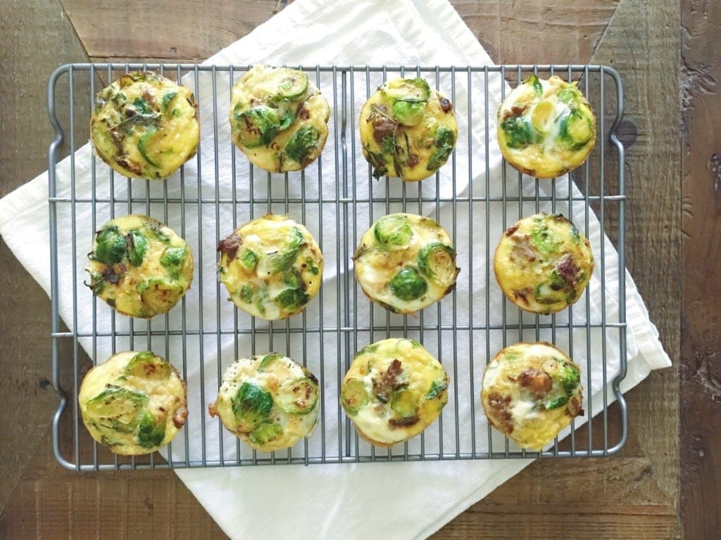 Sweet Potato, Brussel Sprout and Sausage Muffins_coolingrack
