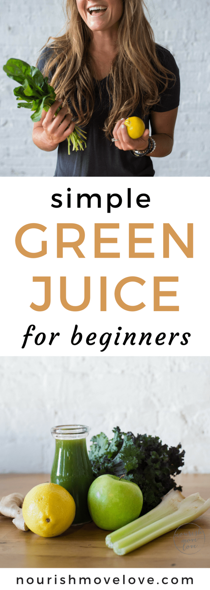 simple green juice for beginners | www.nourishmovelove.com