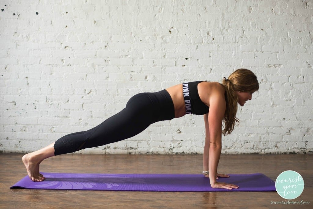 planksgiving thanksgiving holiday plank workout to strengthen the core and build abs - https://www.nourishmovelove.com/happy-planksgiving-plank-workout