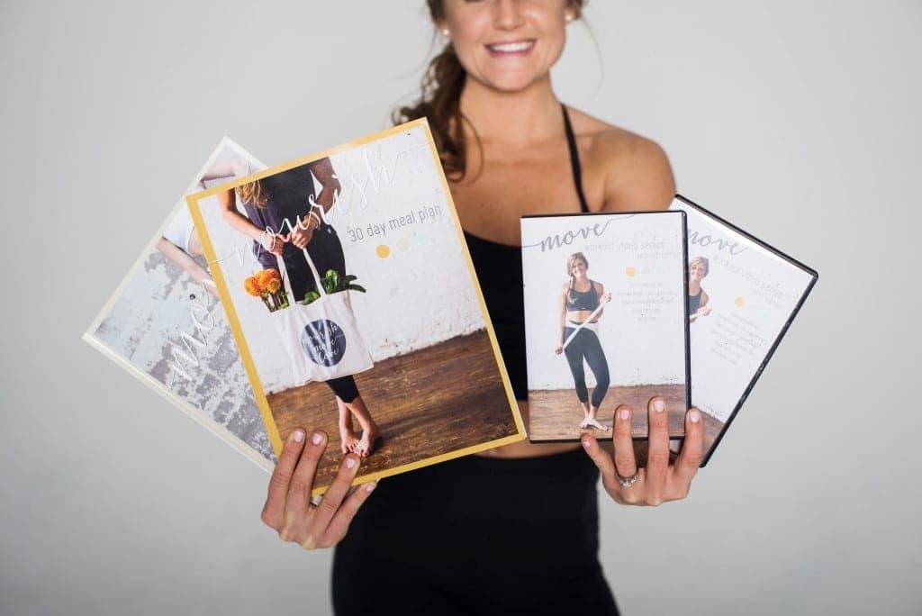 nourish + move online training program -- nourishmovelove.com