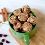 naughty or nice? trail mix holiday cookie balls - https://www.nourishmovelove.com