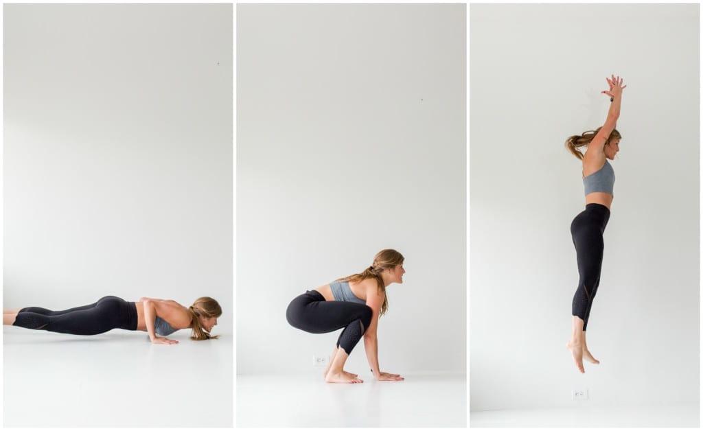 10 Minute AMRAP Bodyweight Workout -- Belly Flop Burpee -- www.nourishmovelove.com