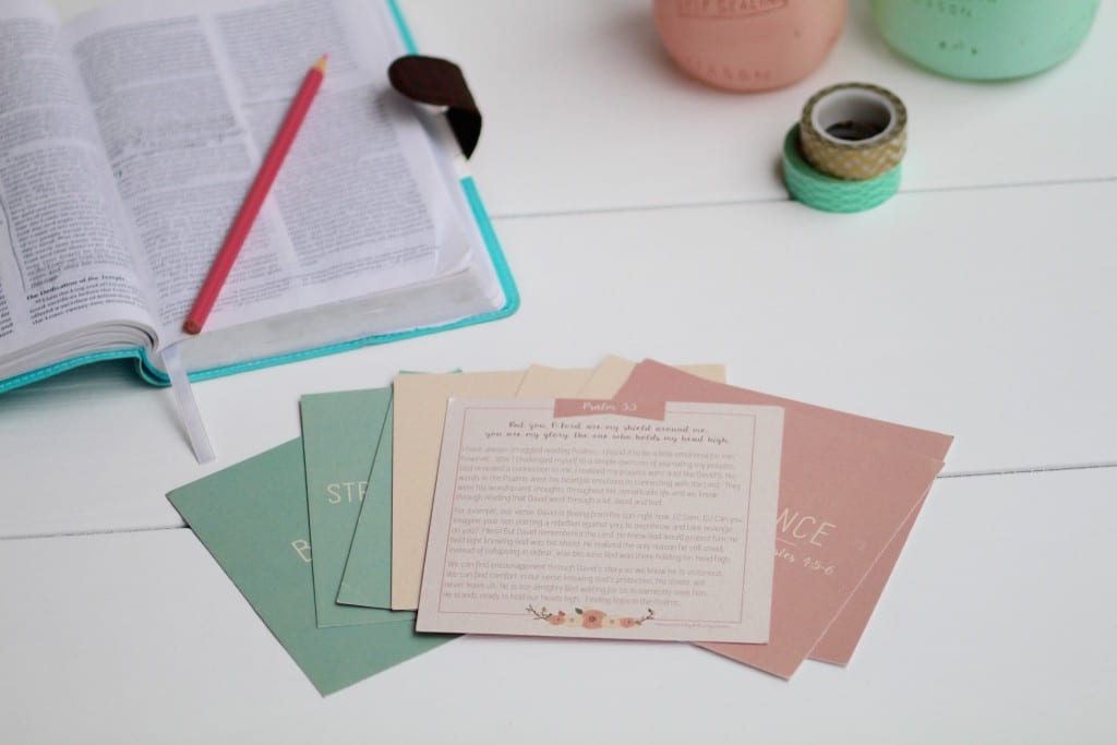 scripture memorization with a purpose - scripture cards -- www.nourishmovelove.com