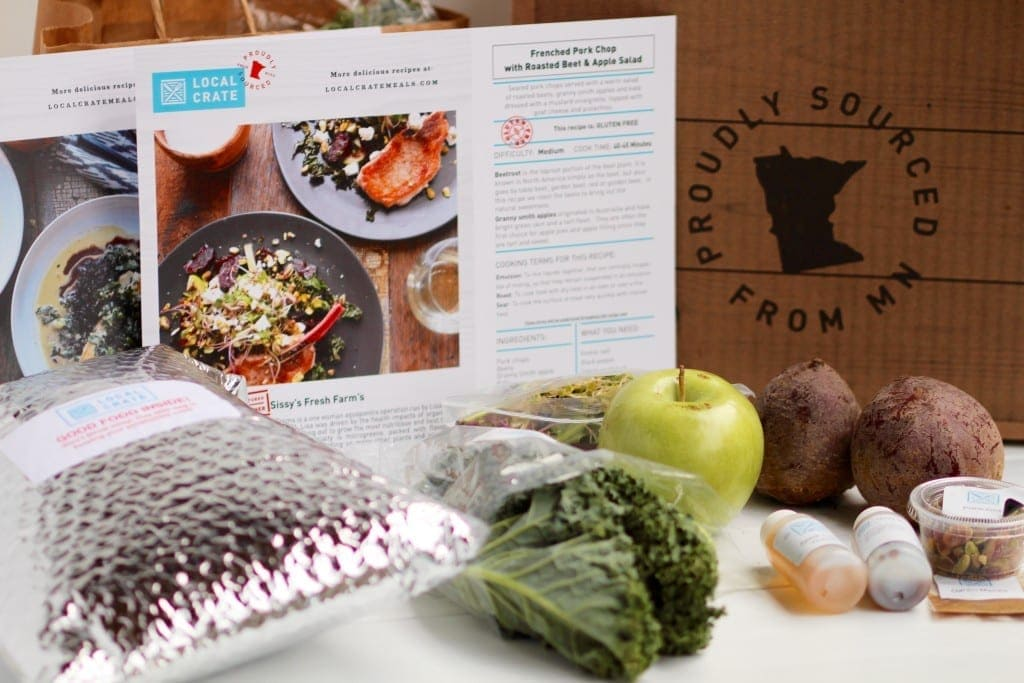 Local Crate Meals MN delivered to your home -- www.nourishmovelove.com