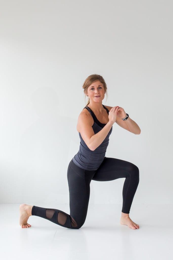12 Squat Variations + Lower Body AMRAP Workout -- Squat + Knee Drops -- www.nourishmovelove.com