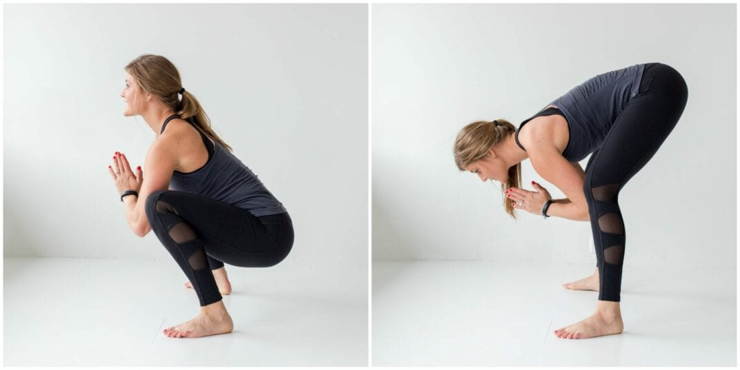 12 Squat Variations + Lower Body AMRAP Workout -- Frog Squat -- www.nourishmovelove.com