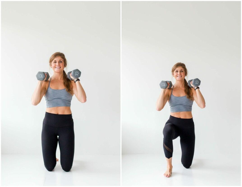 12 Squat Variations + Lower Body AMRAP Workout -- Surrender Squat -- www.nourishmovelove.com