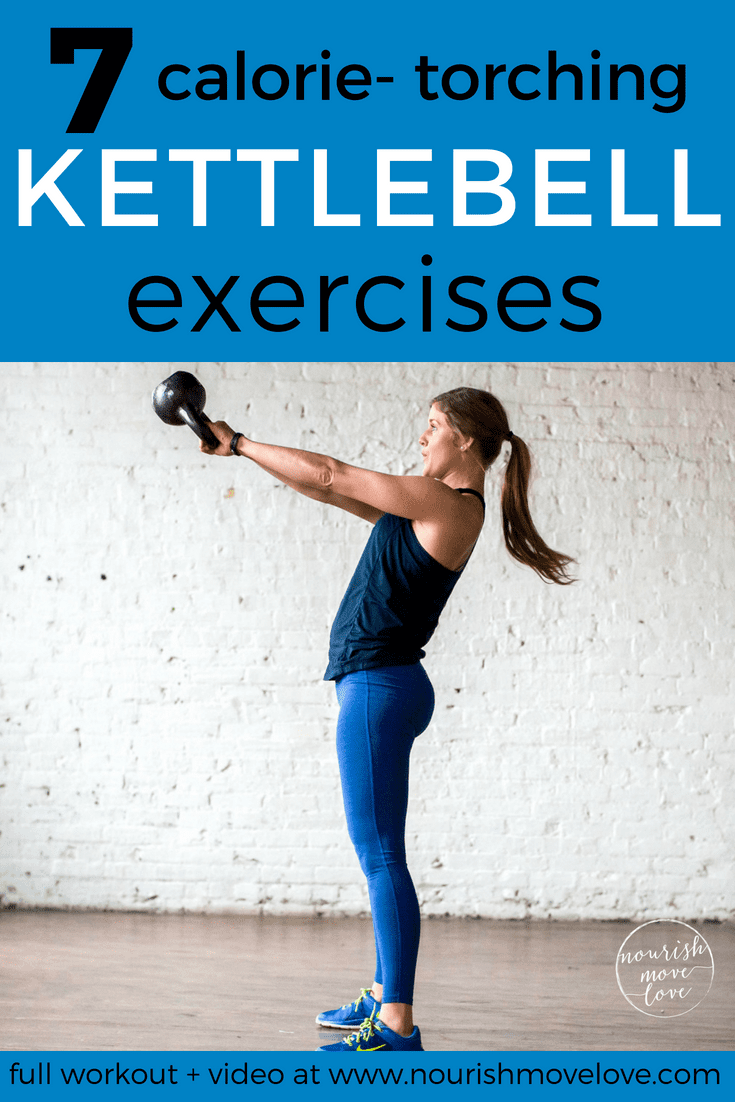 7 Calorie Torching Kettlebell Moves 20 Minute HIIT Workout
