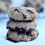 healthiest 3 ingredient cookies you'll ever make {+ egg-free cookie dough}