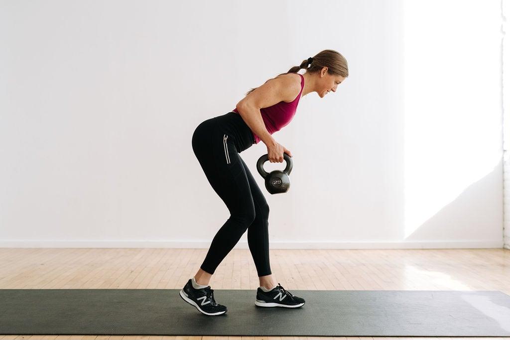 single arm back row with kettlebell   kettlebell exercises