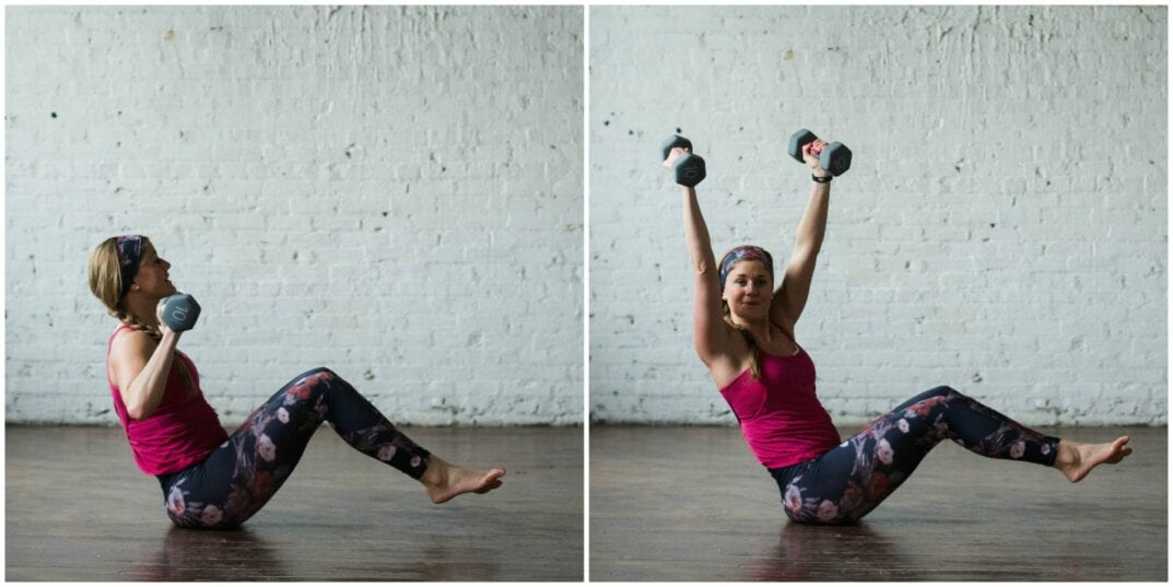 6 Move Arms And Abs Workout To Strengthen And Tone