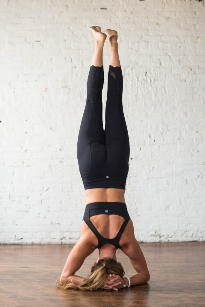 10 morning yoga poses, headstands and inversions --- www.nourishmovelove.com