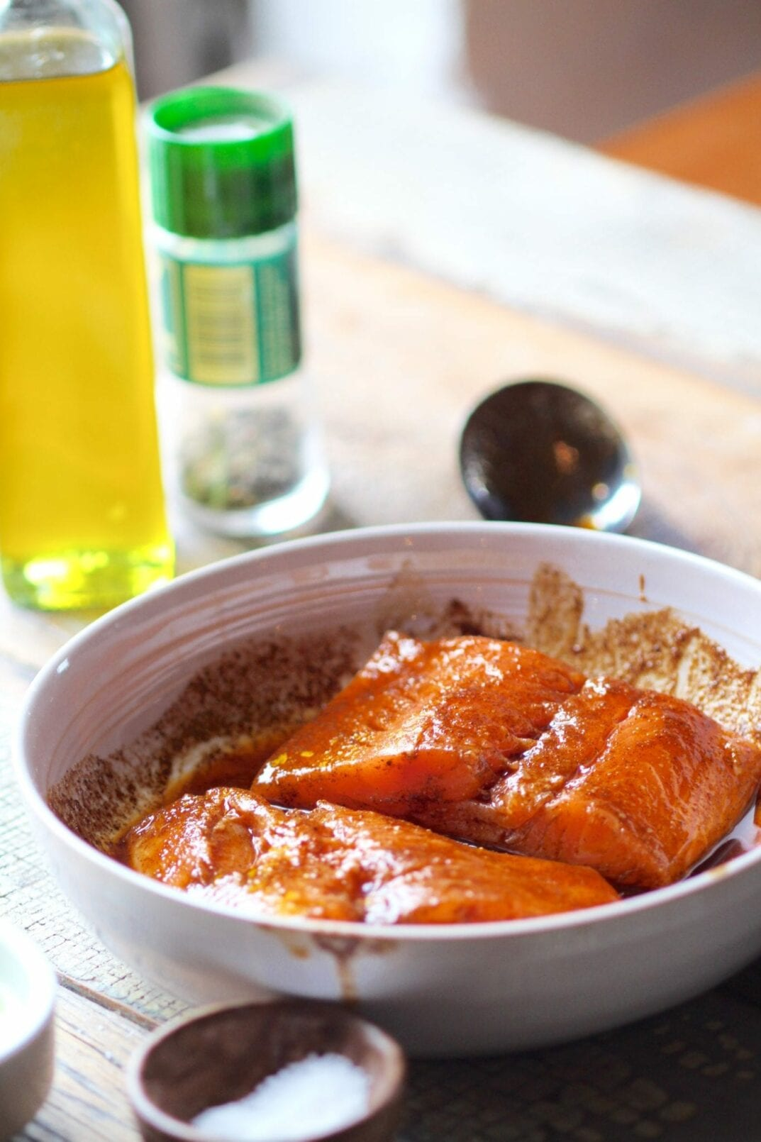 blackened salmon marinade