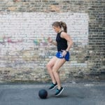 medicine ball hiit circuit {total body workout in 30 minutes}