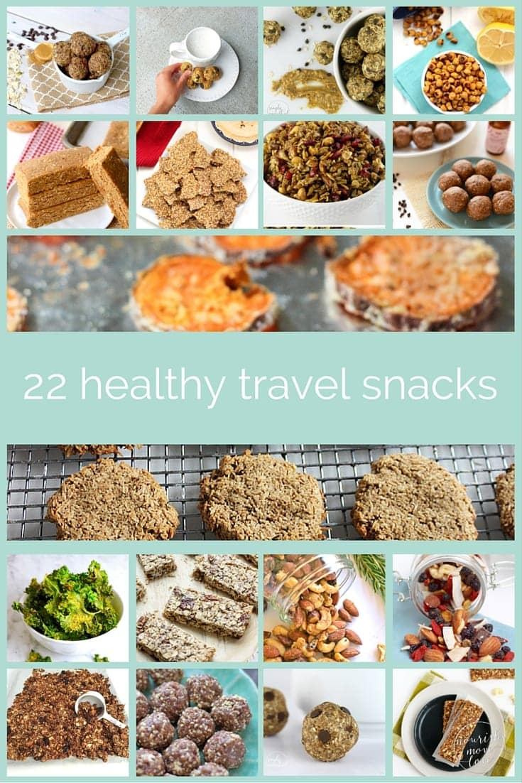healthy travel snacks | www.nourishmovelove.com