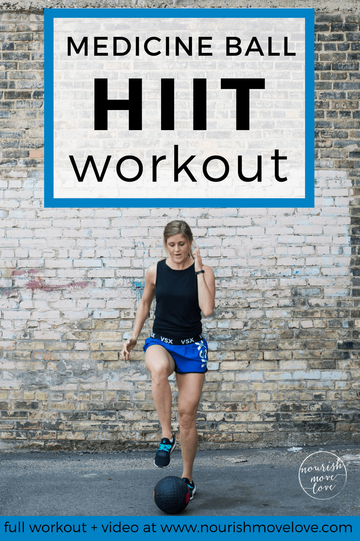 Medicine Ball HIIT Circuit | 30-Minute Total Body Workout