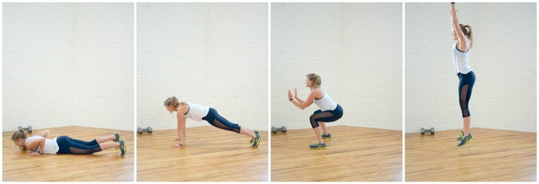belly flop burpee