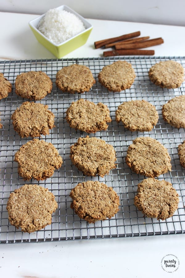 Chewy Cinnamon Protein Cookies