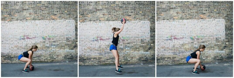 medicine ball hiit circuit workout | nourish move love