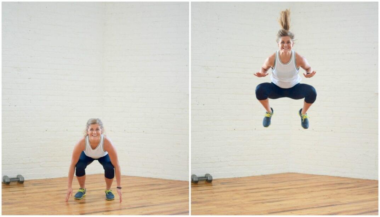plyo tuck jump