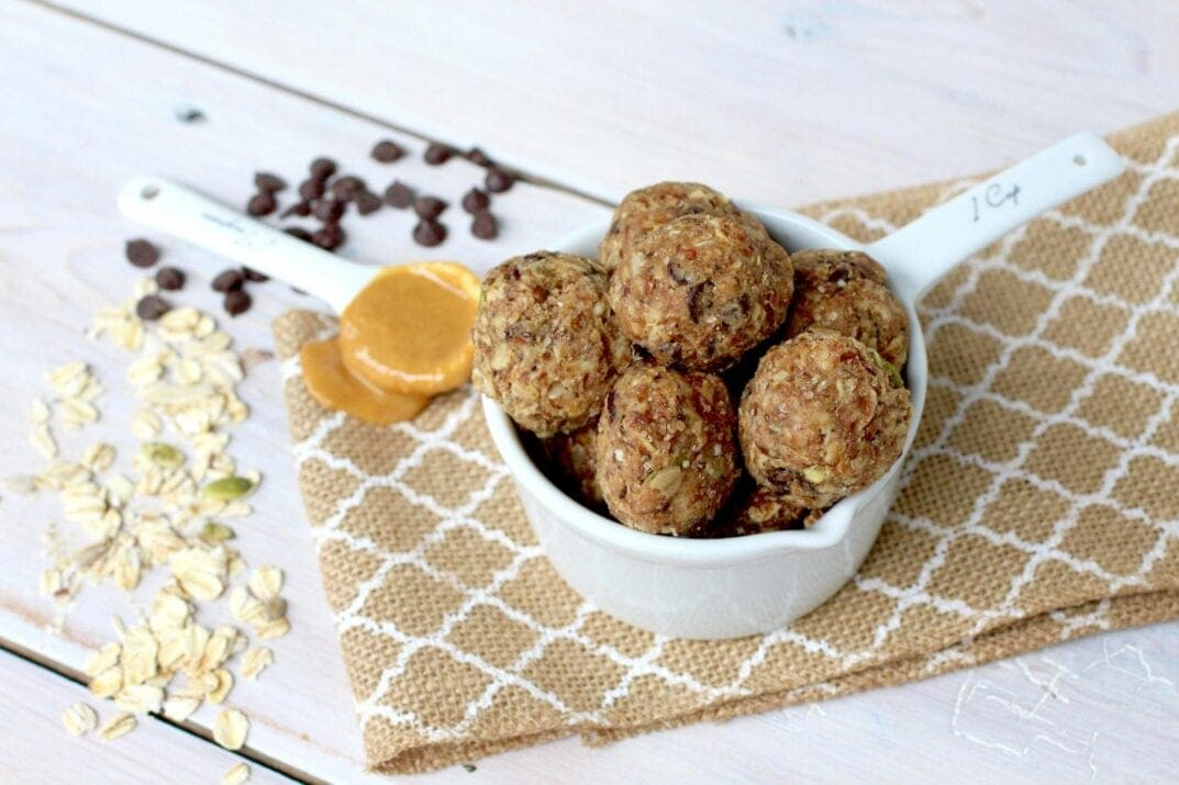 Trail Mix Snack Balls