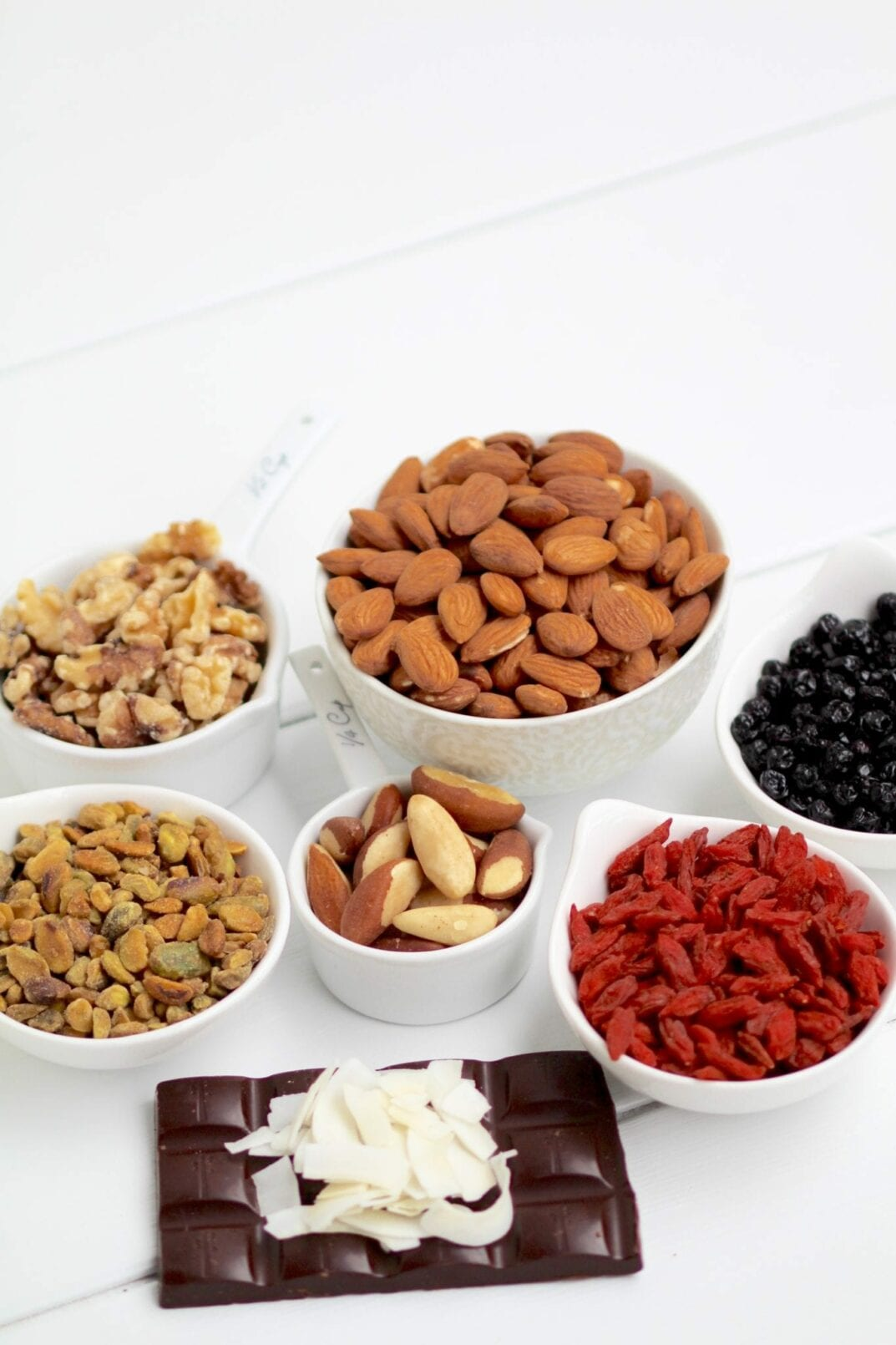 healthy superfood trail mix ingredients