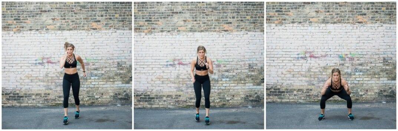 runner squats