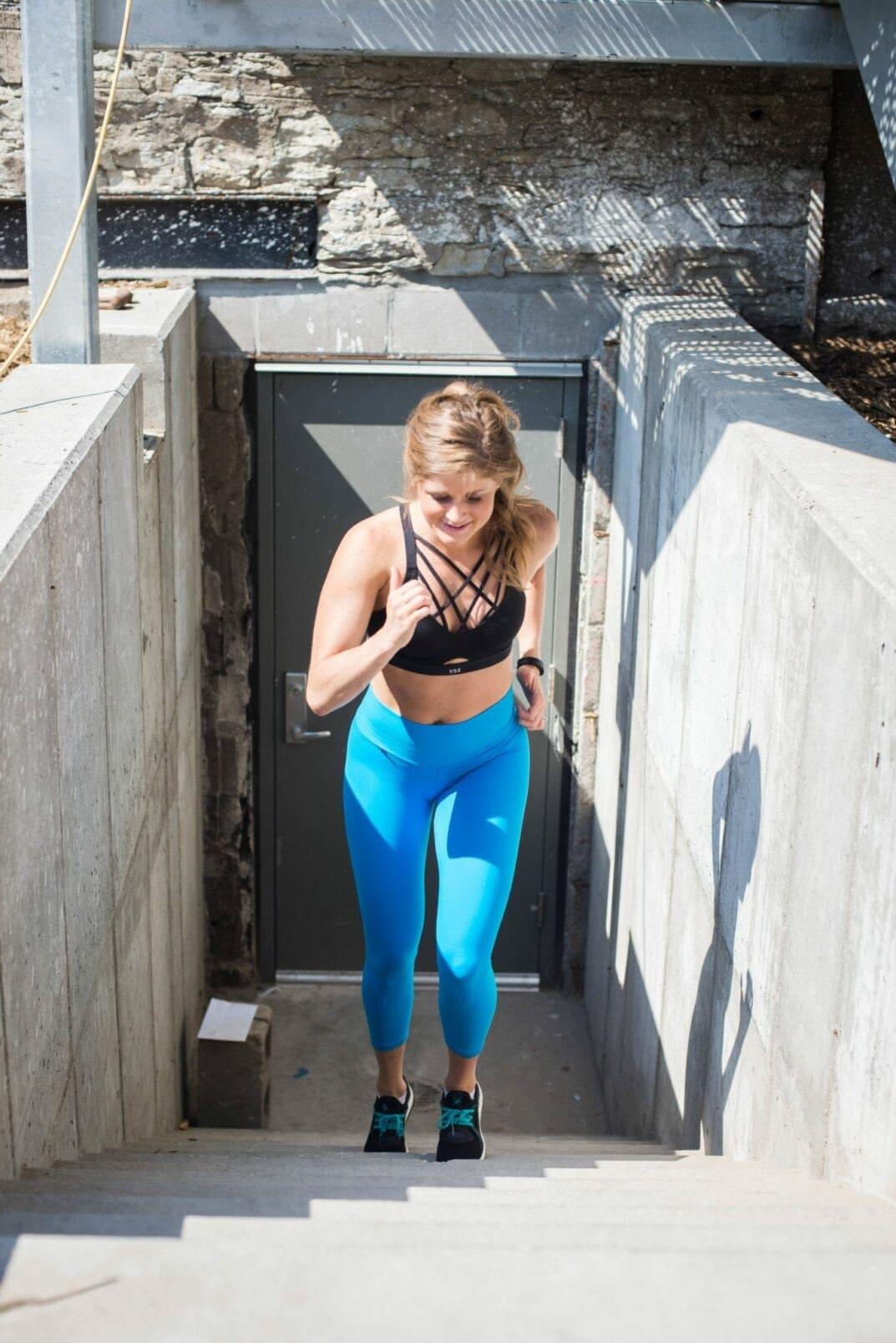 stair-climbing cardio workout | stair workout | outdoor workout | Butt workout | lower body workout