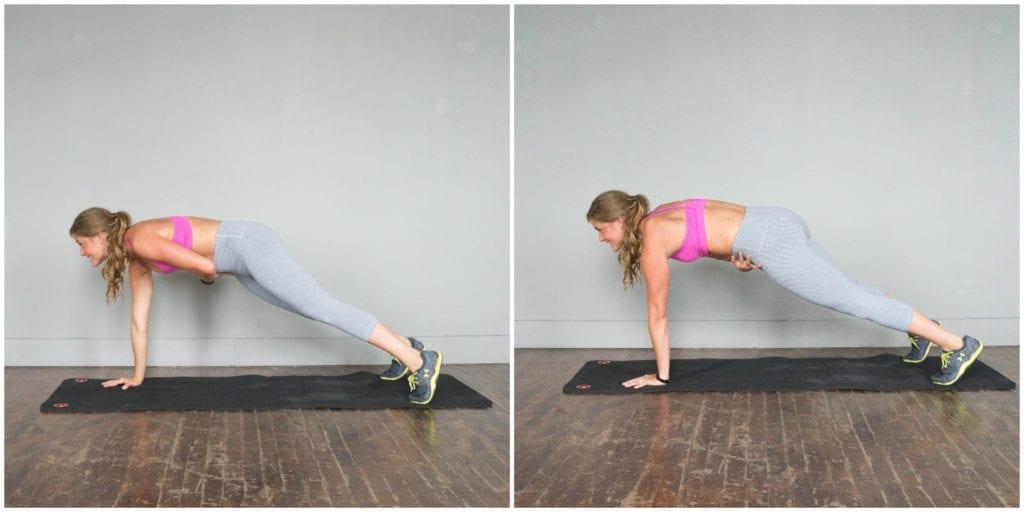 Plank Hip Taps