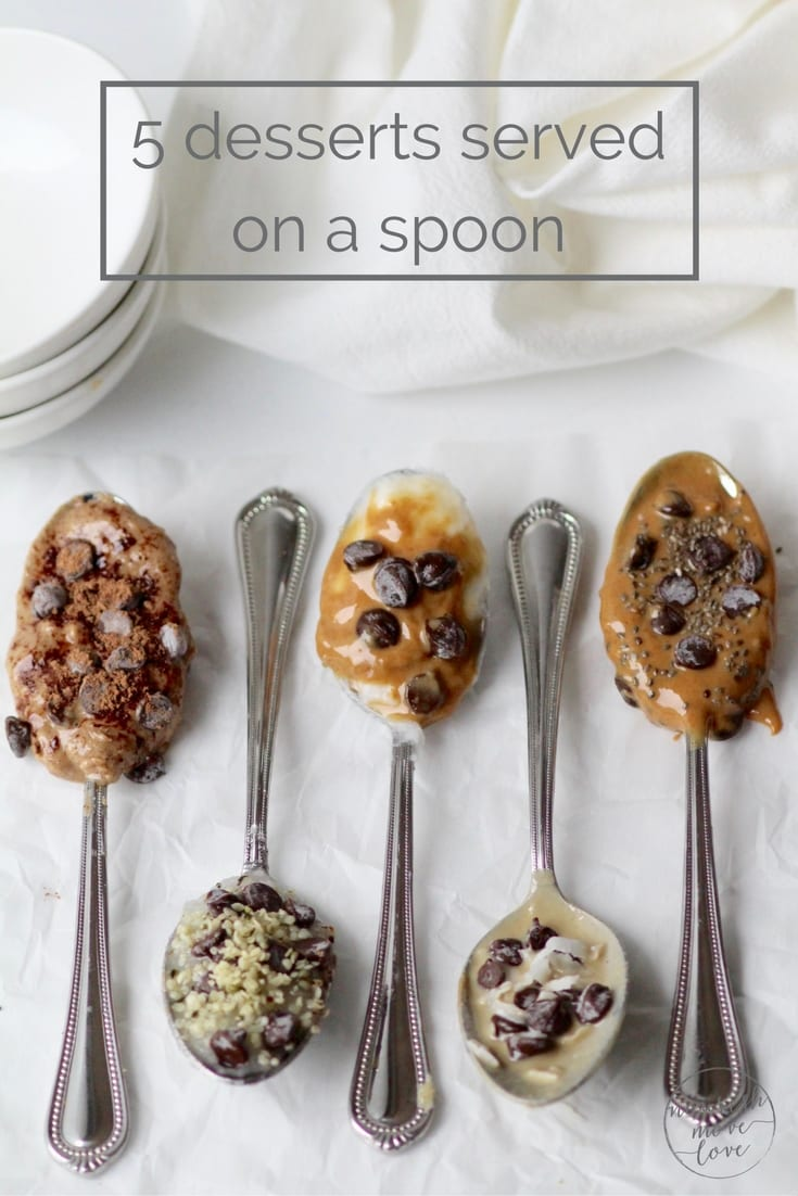 5 delicious and healthy spoonfuls of dessert | www.nourishmovelove.com