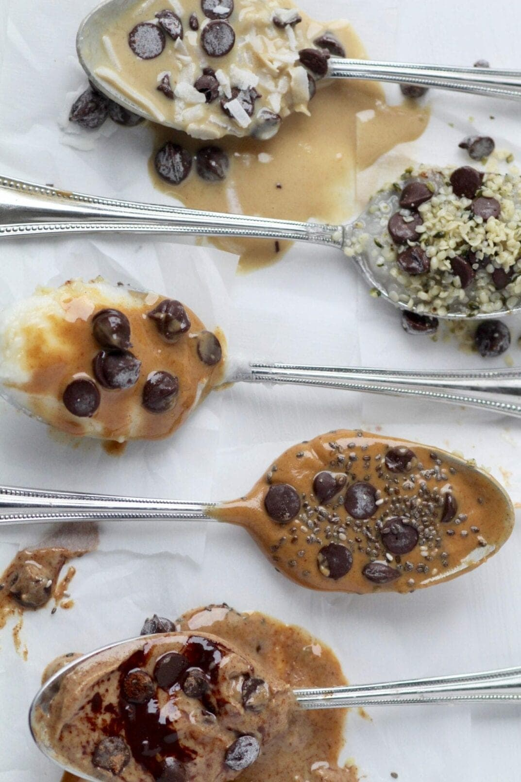 healthy spoonfuls of dessert