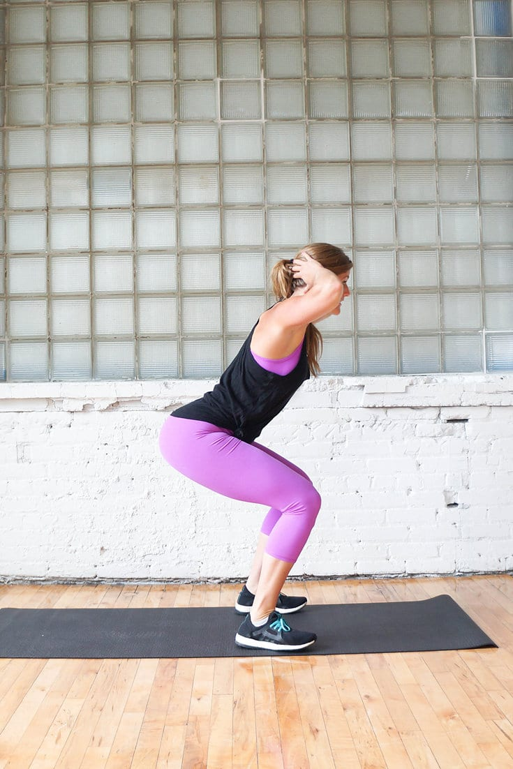 30-minute workout videos | www.nourishmovelove.com