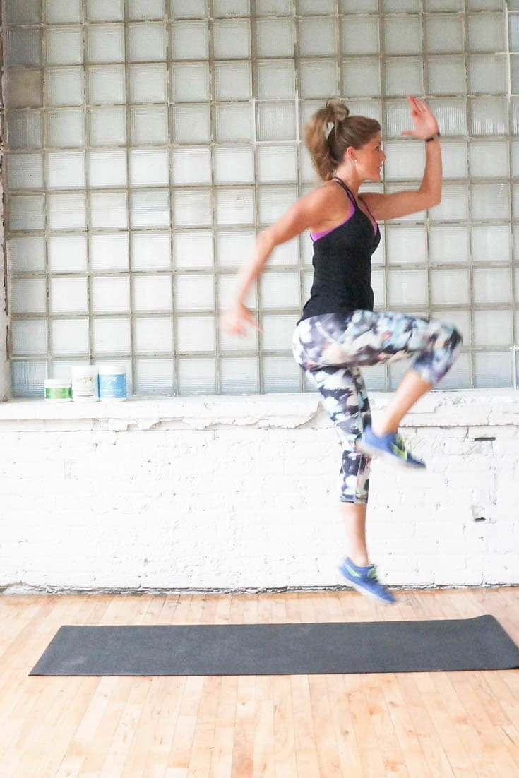 strength + plyo workout with vital proteins | www.nourishmovelove.com