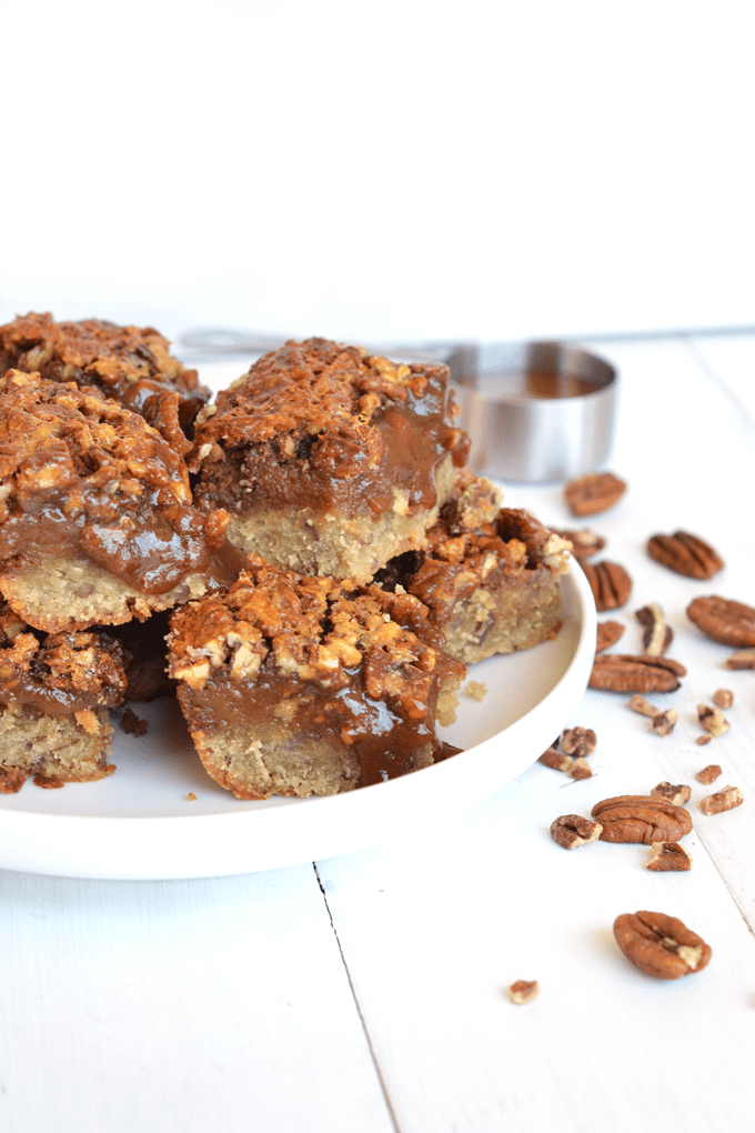 Cinnamon Pecan Pie Bars