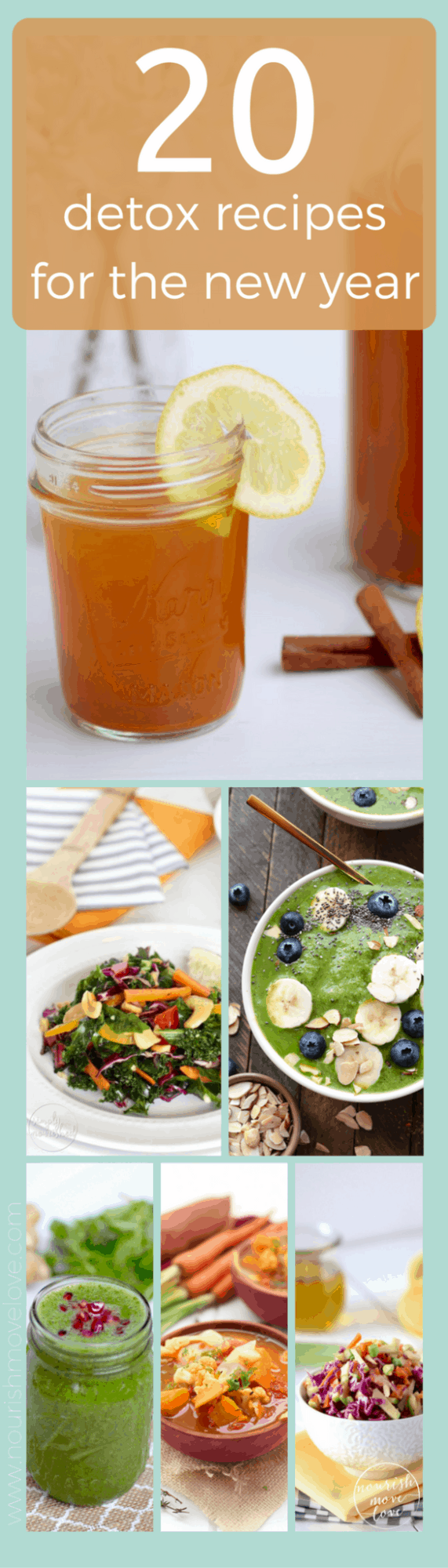 20 detox recipes for the new year | www.nourishmovelove.com