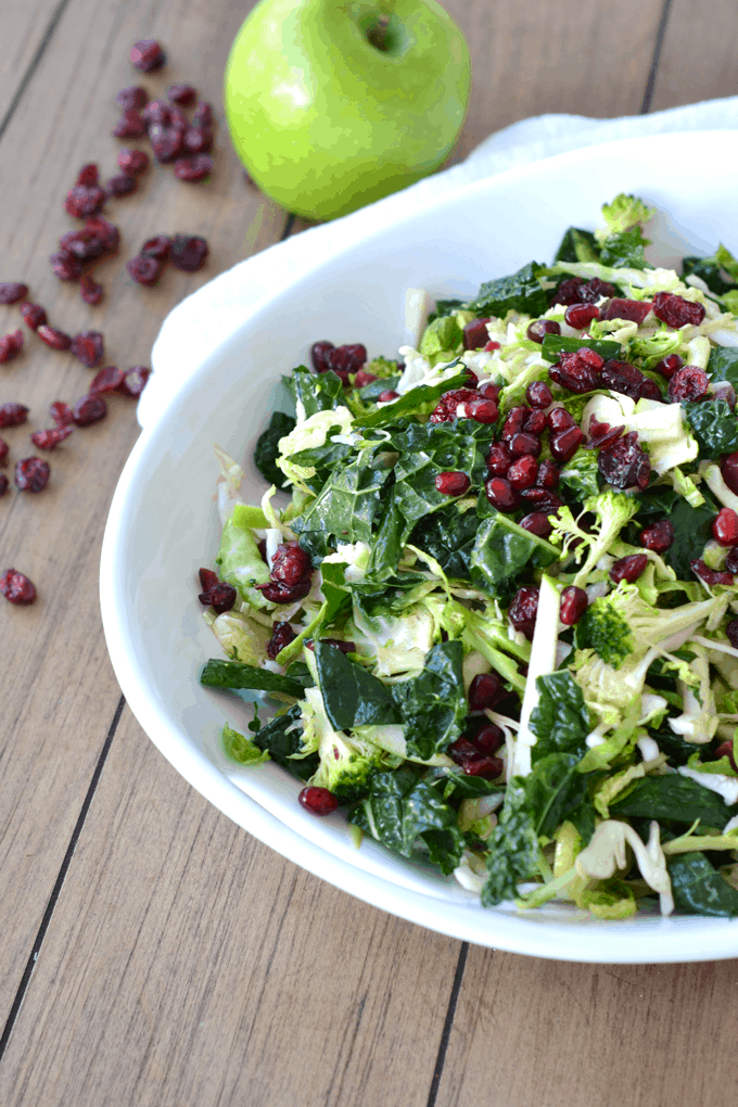 Superfood Salad with Vanilla Lime Vinaigrette