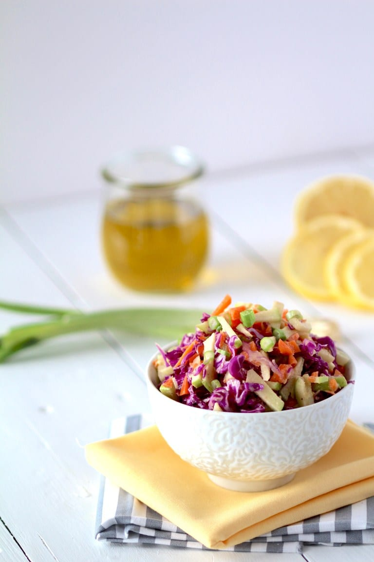Ginger Cabbage Detox Salad