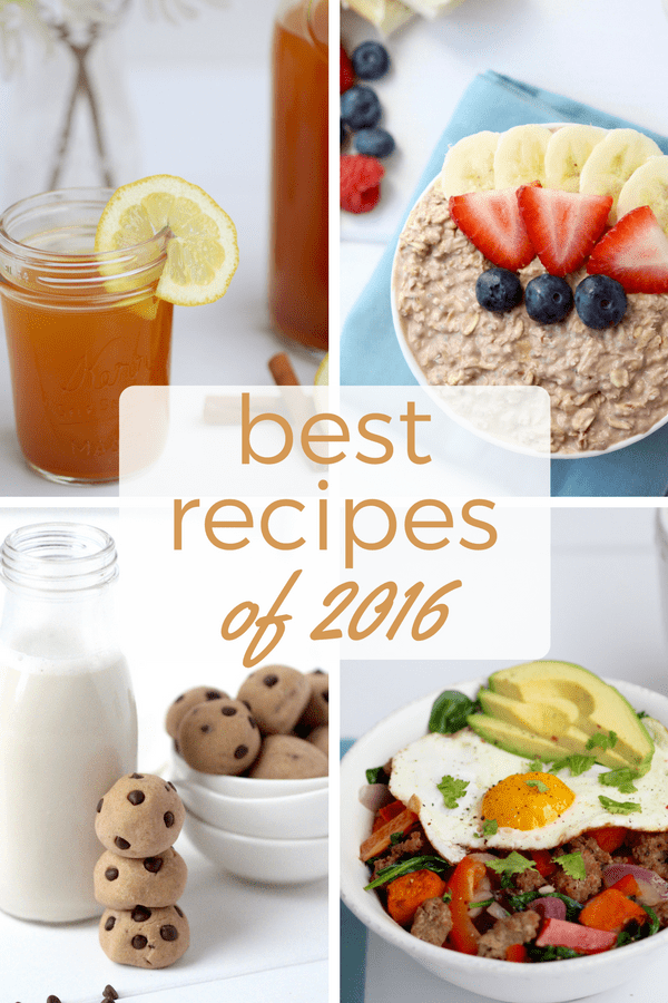 best recioes of 2016 | www.nourishmovelove.com