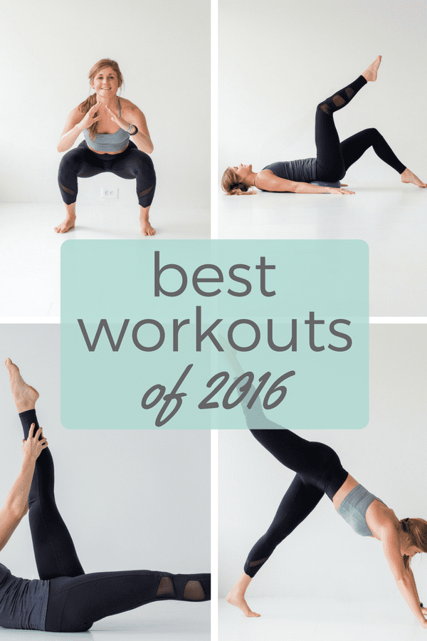 best workouts of 2016 | www.nourishmovelove.com