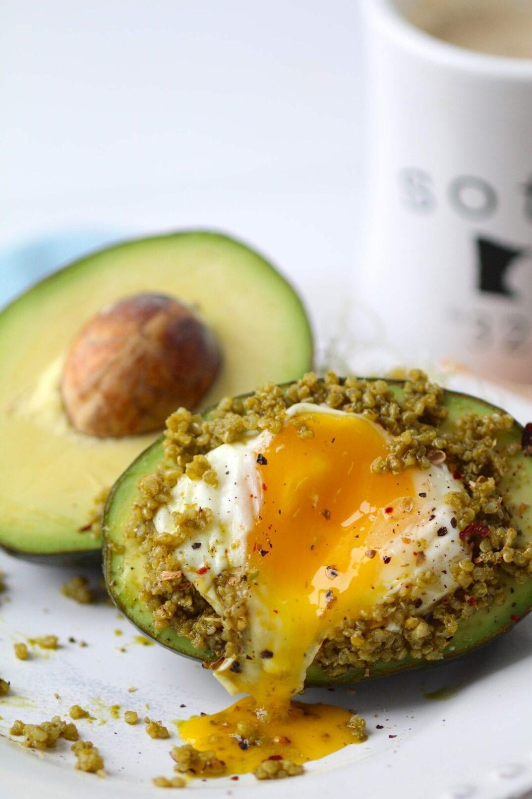 Avocado + Egg Boat