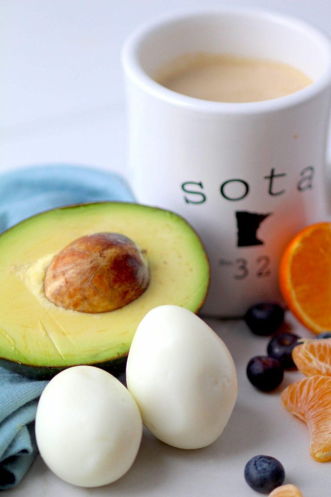 Avocado + Eggs To Go