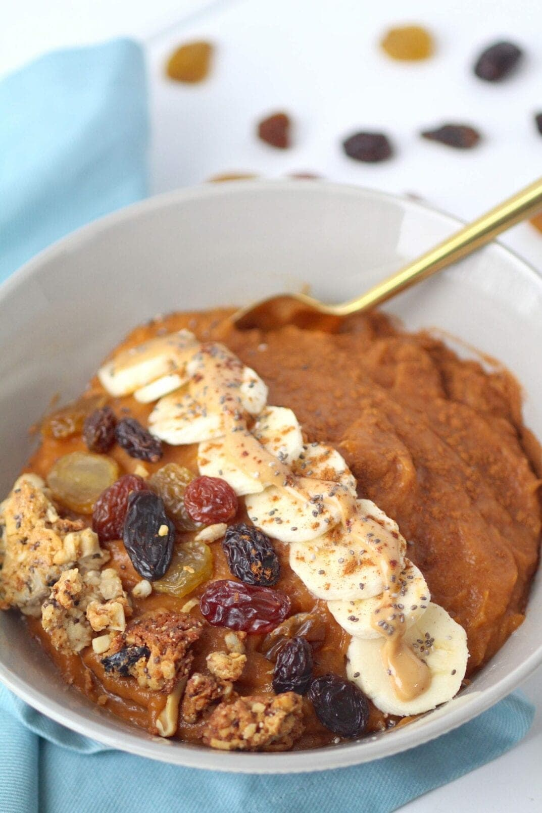 Simple Sweet Potato Breakfast Bowl
