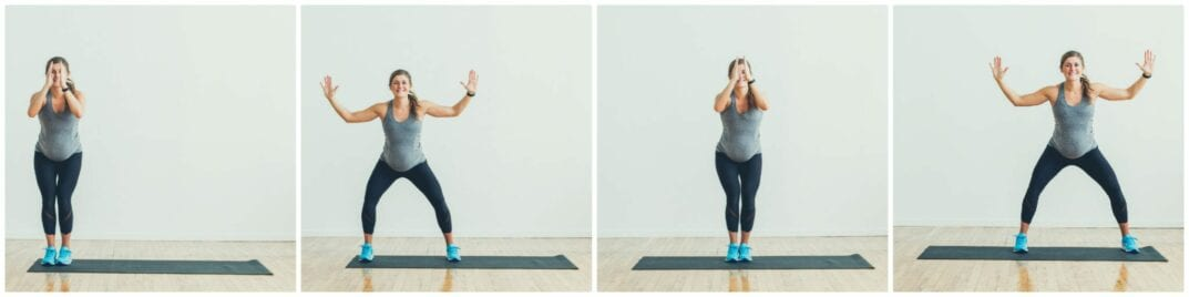 Double Side Step Squats