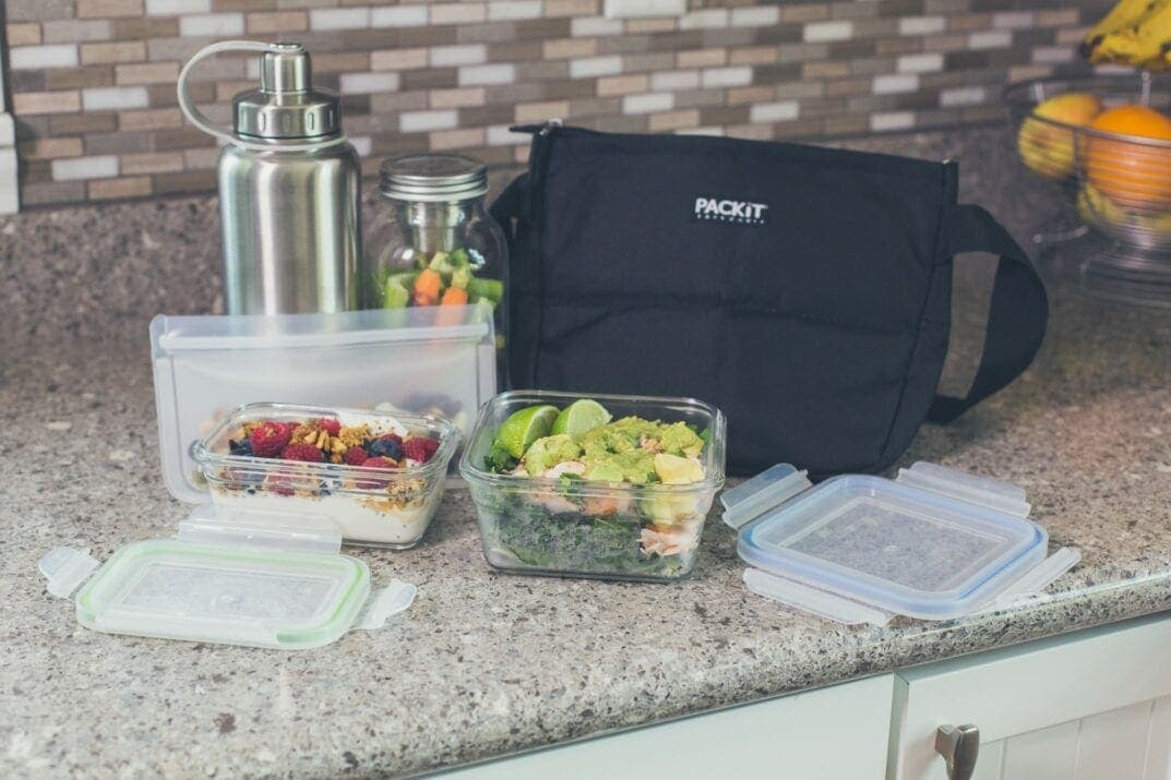 lunch bag meal prep