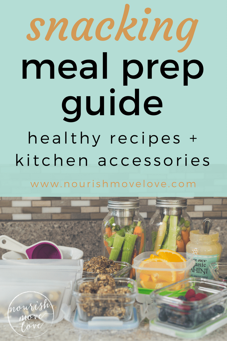 Snack Meal Prep Recipes | www.nourishmovelove.com
